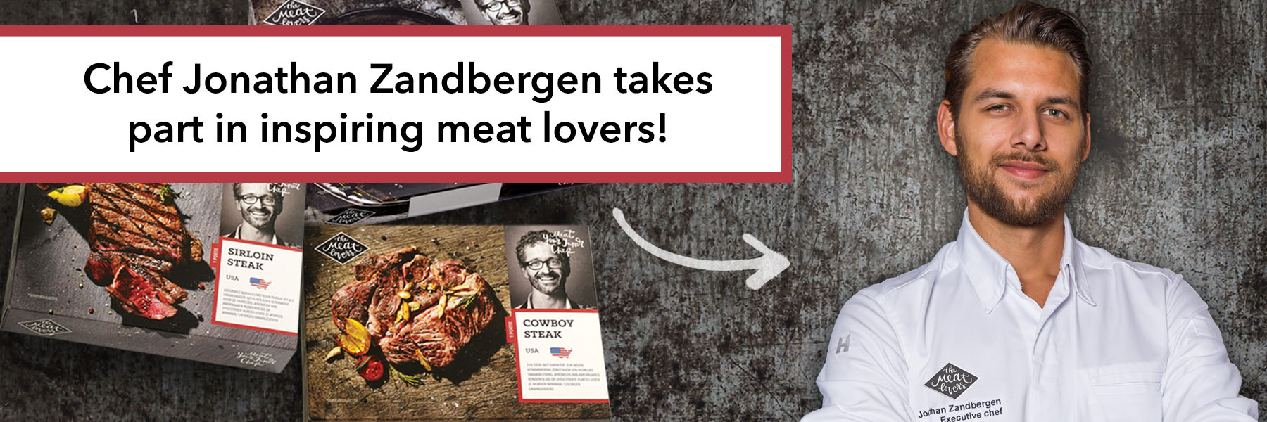 Chef Jonathan Zandbergen commits to The Meatlovers